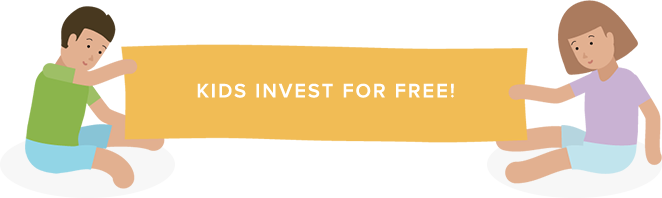 Kids invest for free - Stockspot